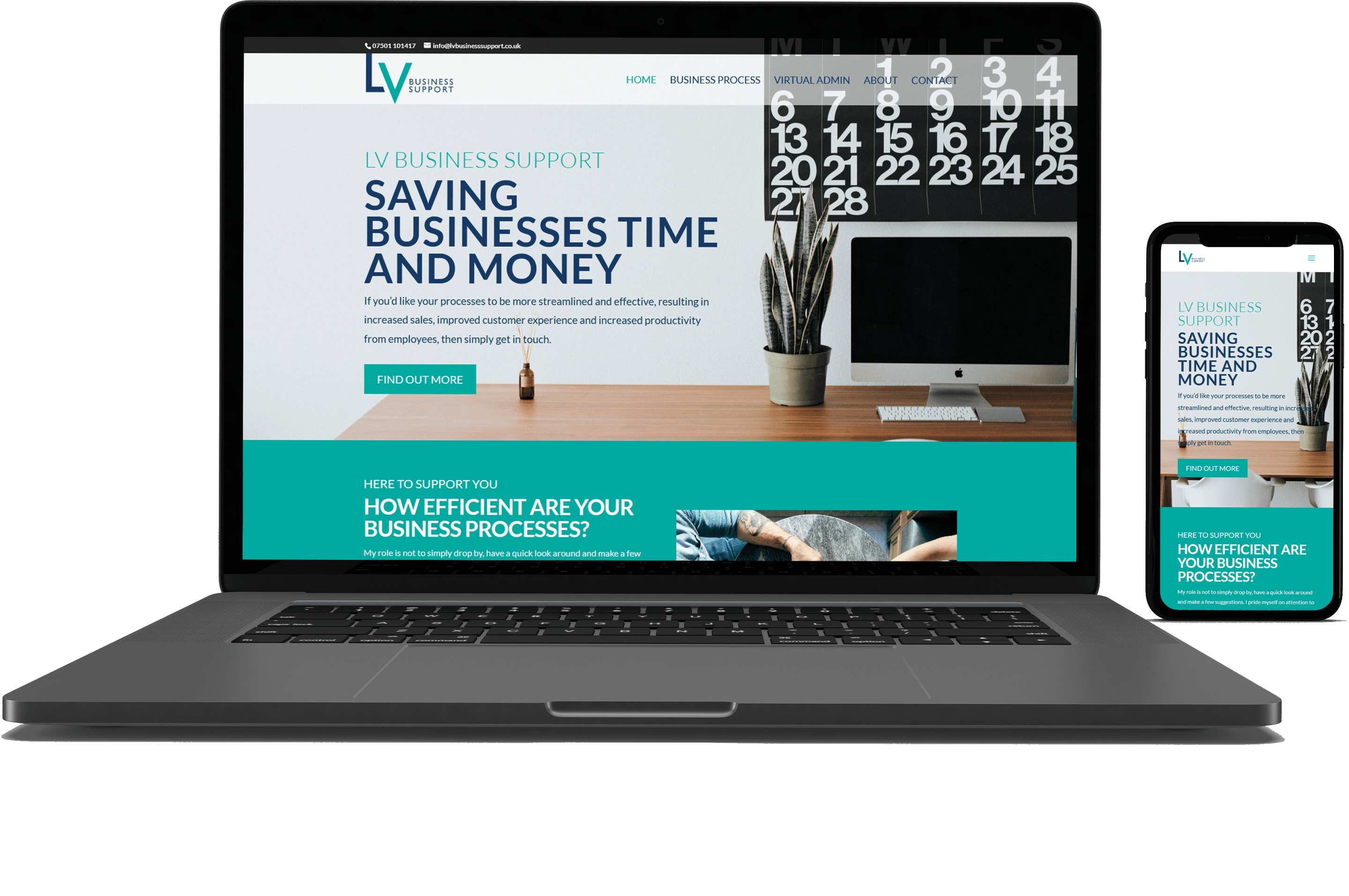 LV Business Support Web Site