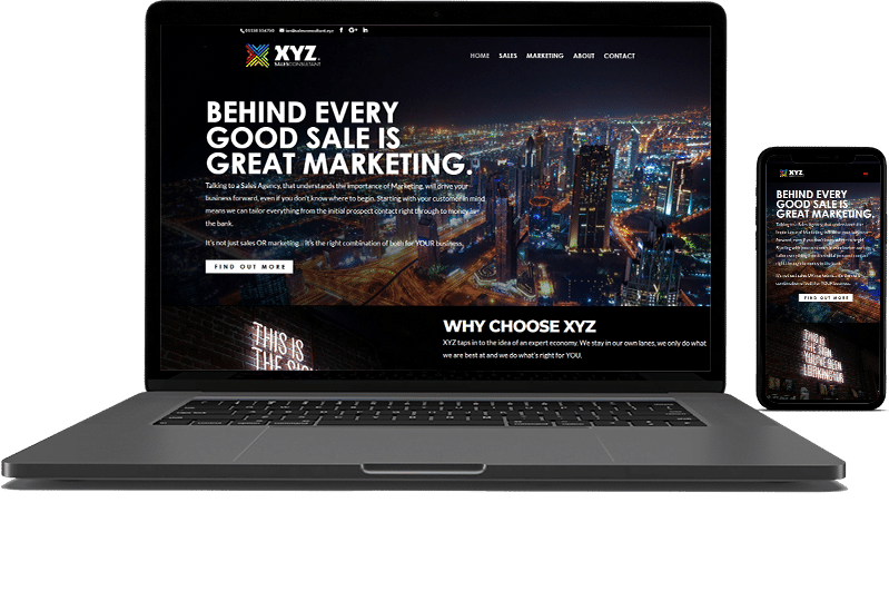XYZ Website Design